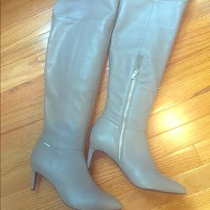 Calvin Klein knee high boots